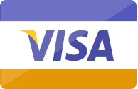 We accept VISA payment